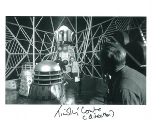 Timothy Combe (Dr Who Director) - Genuine Signed Autograph 8263